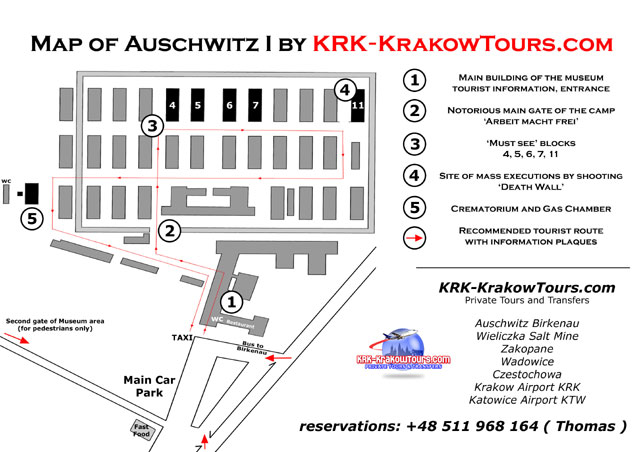 Downloading and printing out our auschwitz map is allowed only for